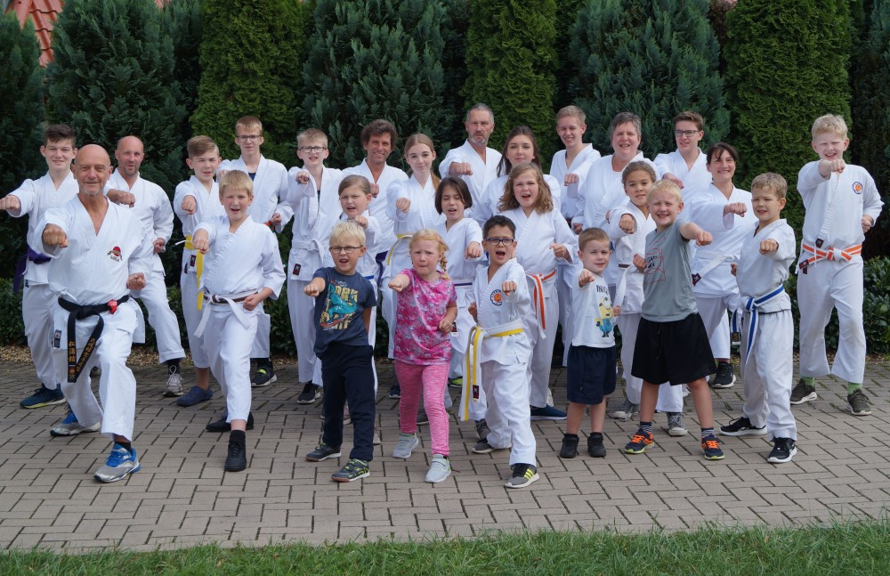 Karategruppen Berge 2